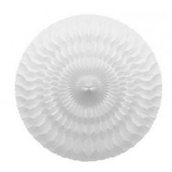 Grande rosace blanche - 50cm