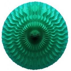 Grande rosace vert d'eau - 50cm