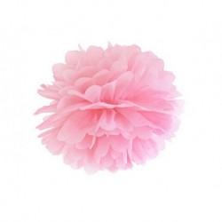 Pompon rose - 35cm