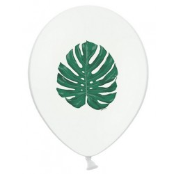 Ballon feuille tropicale - 28cm
