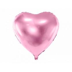 Ballon coeur rose - 45cm