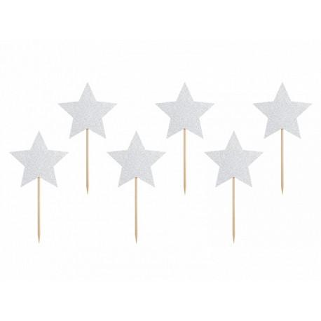 6 Pics étoiles agentés