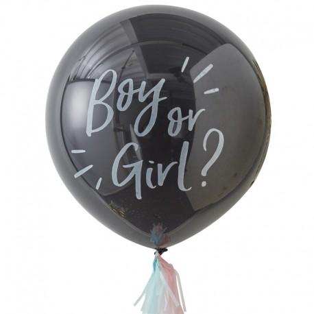 """Ballon géant """"boy or girl ?"""" - 90cm"""