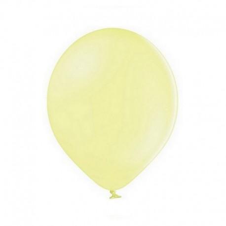 Ballon jaune pastel - 27cm