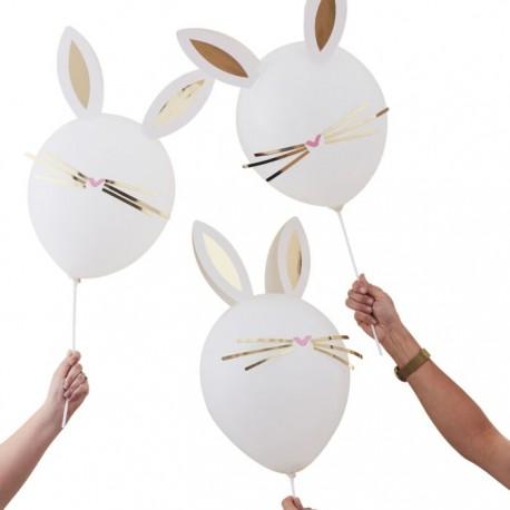 Kit ballons tête de lapin