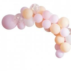 Guirlane de ballons nude - 60 ballons