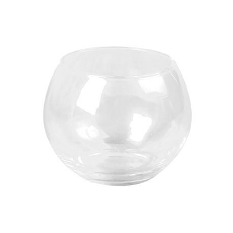 Porte bougie en verre - 10cm