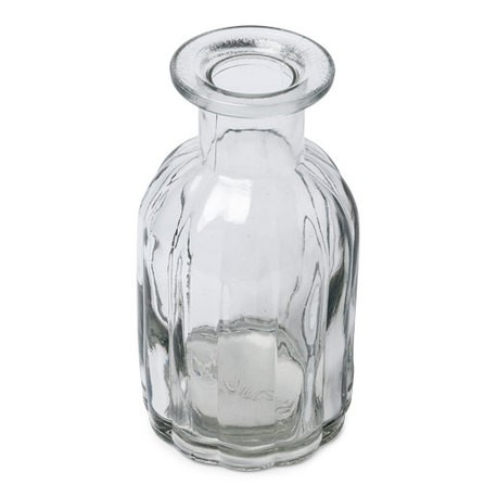 Vase verre ciselé - 13.5cm