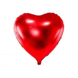 Ballon coeur rouge - 45cm