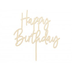 "Cake topper ""happy birthday"" bois"