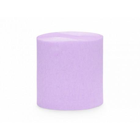 4 papier crépon lilas