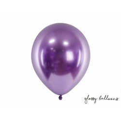 Ballon glossy violet - 30cm