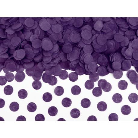 Confettis papier de soie violet - 15gr