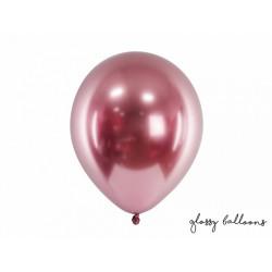 Ballon latex brillant rose gold