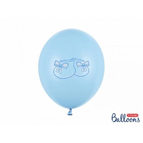 Ballon chausson bleu - 30cm
