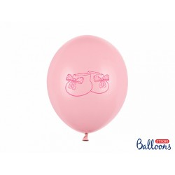 Ballon chausson rose - 30cm