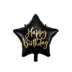 Ballon alu' étoile noire anniversaire