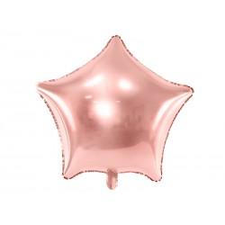Ballon étoile rose gold - 48cm