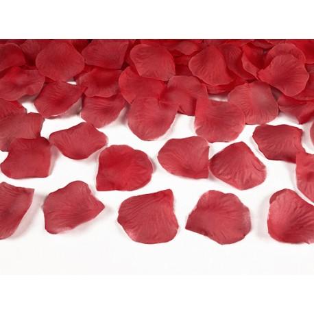 100 Pétales de roses rouges - 5cm