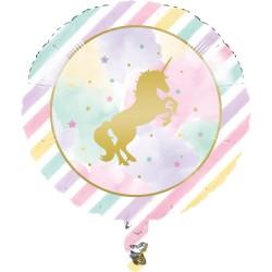 Ballon à hélium licorne