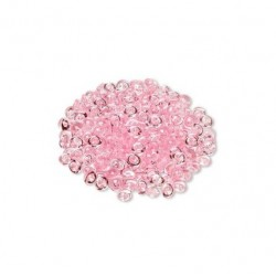 Perle de pluie rose