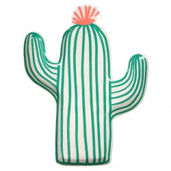 Assiettes cactus x12