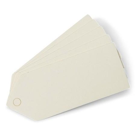 Etiquettes ivoire x24
