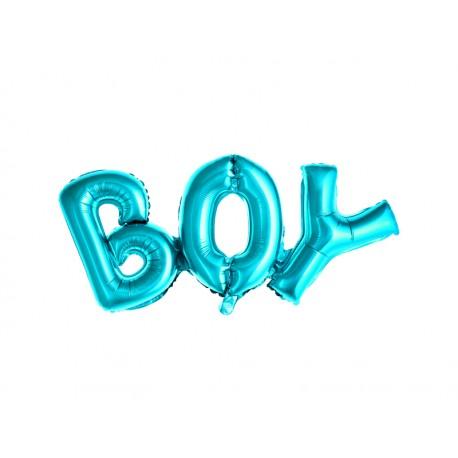 Ballon mylar BOY bleu