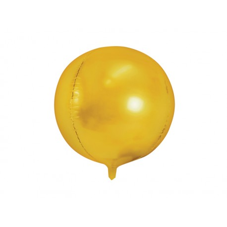 Ballon bulle mylar or - 40cm