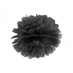 Pompons noir - 35cm