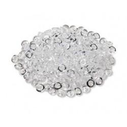 Perle de pluie translucide