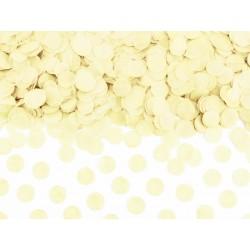 Confettis papier de soie ivoire - 15g