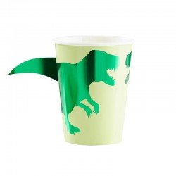 8 Gobelets dinosaures
