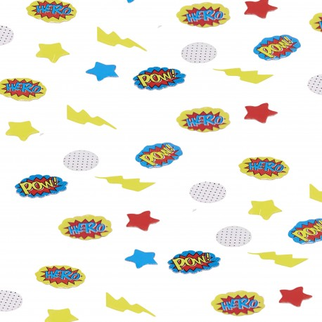 Confetti de table super héros