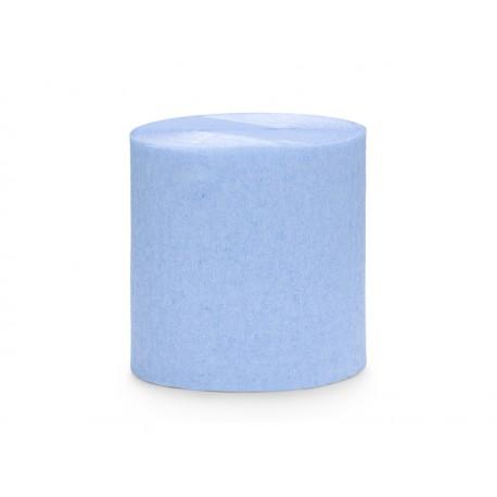 4 Rouleaux papier crépon ciel - 10m