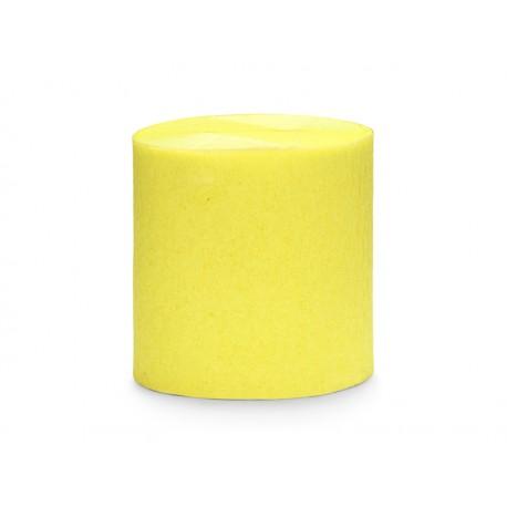 4 Rouleaux papier crépon jaune - 10m