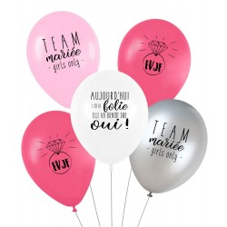 Lot de 5 ballons EVDJF