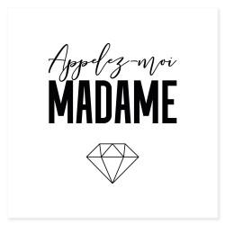 """Tatouages temporaires """"madame"""""""