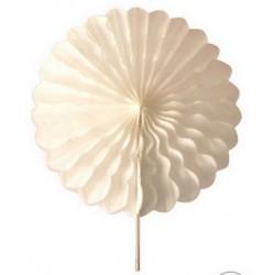 2 Rosaces blanc - 25cm