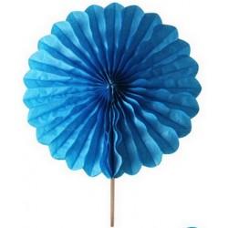 2 Rosaces turquoise - 25cm